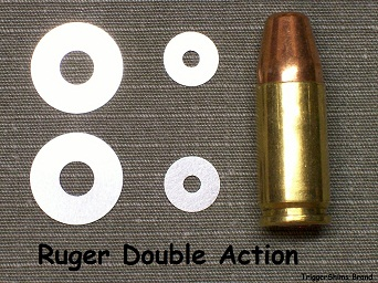 Ruger Double Action Revolver Shims
