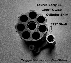 Early Taurus Cylinder Shim