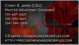 Corey B. James - Master Weapons Designer