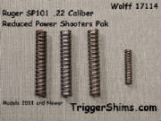 Wolff 17114 SP101 .22 Cal Kit