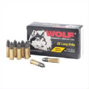 Click to go to Brownells Wolff .22 LR Ammo