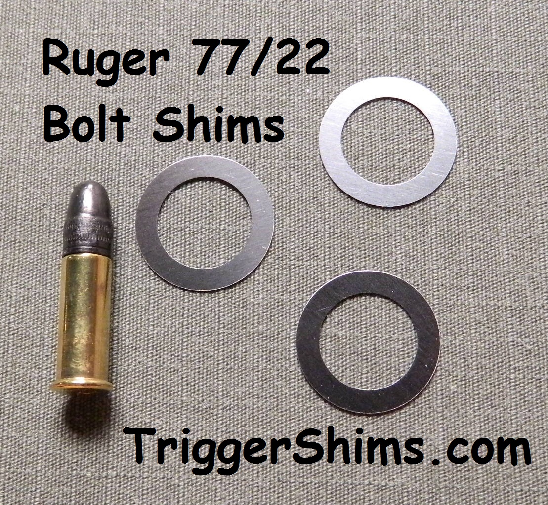 Ruger 77/22 Bolt Shims