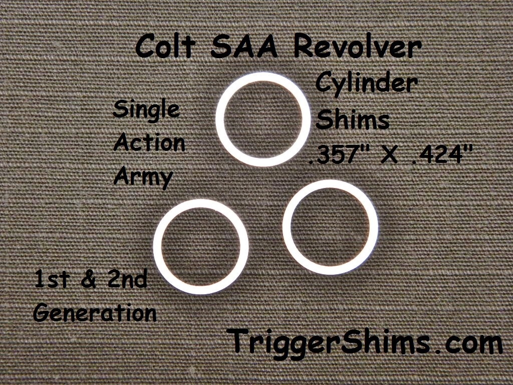 Colt Single Action Army Cylinder Shim