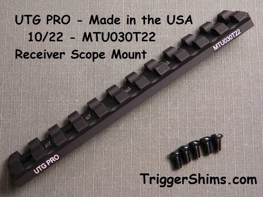 Leapers UTG PRO 10/22 Scope Rail USA Made