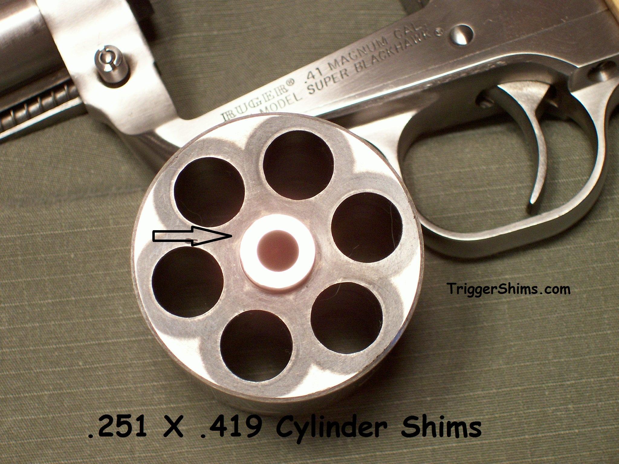 Revolver Cylinder Shims