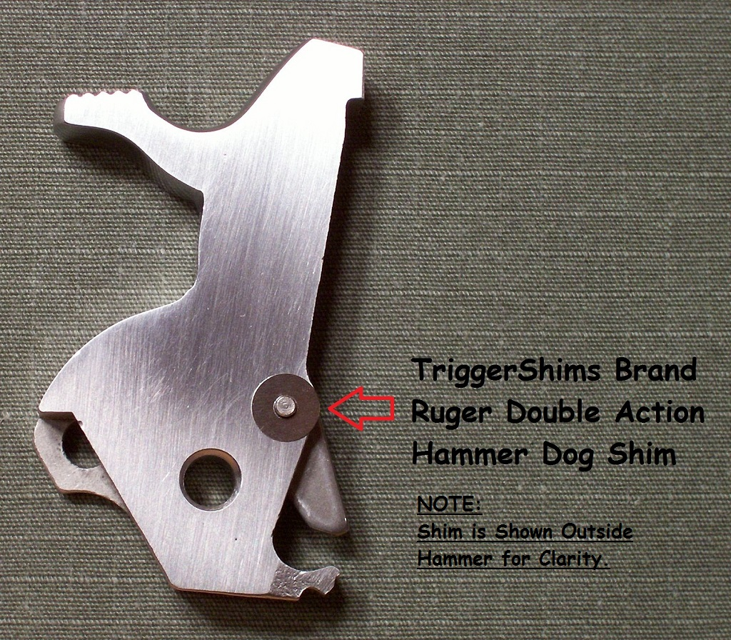 Ruger Double Action Hammer Dog Shim