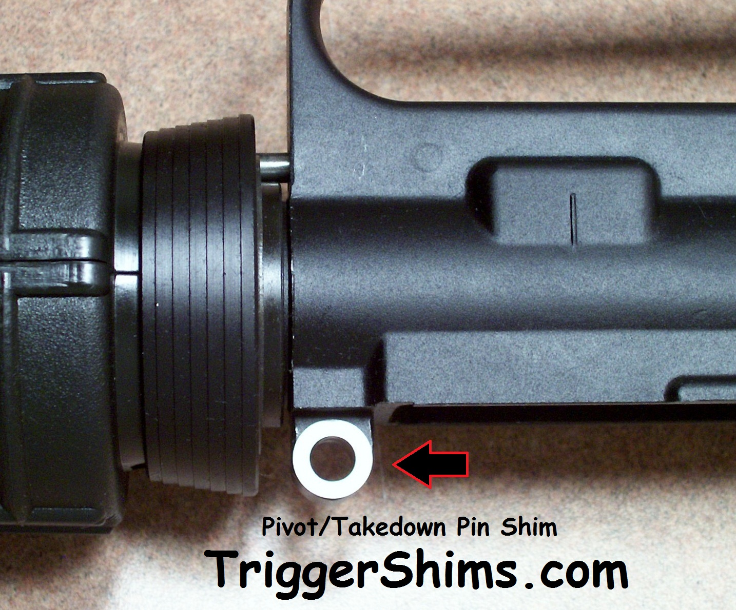 AR-15 Pivot Pin Shims